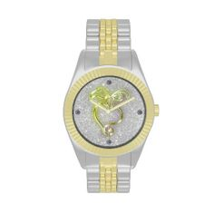 #Zazzle Golden Heart and Sparkles Wristwatches by elenaind