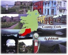 County Cork, Ireland where my great grandmother was born.