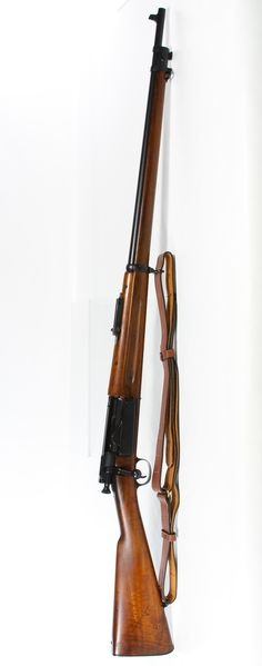 Lot 365: Springfield Model 1898 Krag .30 Rifle (Serial #325966); Manufactured 1898, bolt-action 5-round rotary magazine