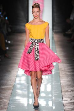 Roccobarocco Spring 2014 RTW - COLOR ATTACK
