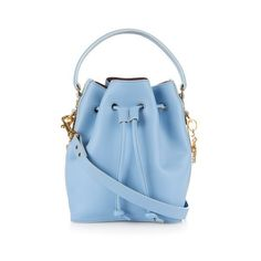 SOPHIE HULME Fleetwood small leather bucket bag ($847) ❤ liked on Polyvore