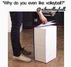 volleyball humor/ so true