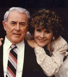 Lee Baldwin and Gail... another couple from Gh's past... (Scottie's dad)