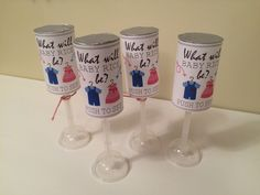 Gender Reveal Confetti Poppers with full instructions for the DIY-ers!