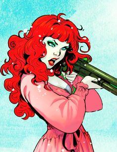 poison ivy - dc comics