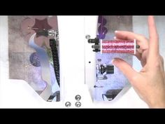 Applique on a Longarm Quilting Machine - YouTube