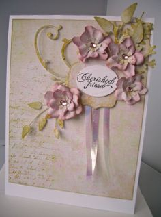 Julie's Inkspot: Two Card - Rose Creations
