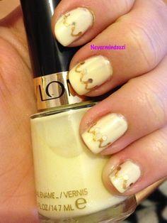 Never mind Suzi: Disney Nail Art Challenge - Belle