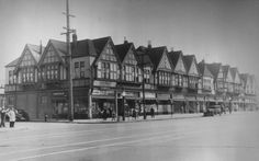 Apartment block, Seventh St., West Oakland (1940) Gift to the Oakland History Room by Valva Realty. Apartment block depicted was at the intersection of Seventh and Market streets. via Oakland Public Library, Oakland History Room and Maps Division