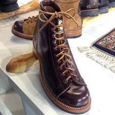 """Polish work boots from #Yuketen . It's not monkey boots. #Goodyearwelt made"""