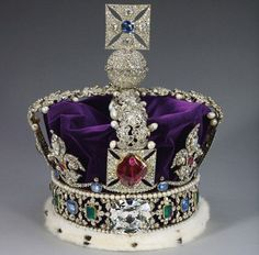The Imperial State Crown with Cullinan II Diamond