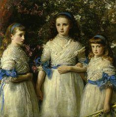 Sisters  Sir John Everett Millais
