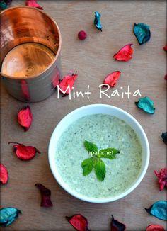 Mint Raita/Pudina Raita  http://www.upala.net/2017/08/mint-raitapudina-raita.html