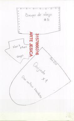 OSO POLAR NAVIDAD – ARTE JESICA Polaroid, Corgi, Barbie, Diy Crafts, Youtube Youtube, Vintage, Bb, Size Chart, Patterns