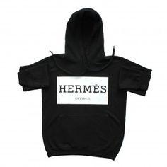 Hermes Olympus Black Unisex Hoody Hoody, Olympus, Hermes, Unisex, Stylish, Sweaters, T Shirt, Black, Women