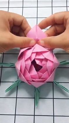 #flower #origami #paper #diy #rose