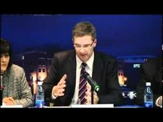 This is what journalism looks like. Banker left Speechless by Irish Journalist