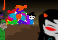 MS Paint Adventures Gamzee is more terrifying than any other terrifying thing that has ever existed.
