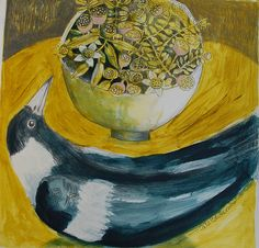 maggie and vase by cate edwards, via Flickr