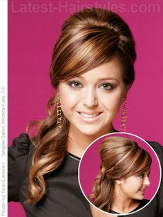 side ponytail styles for long hair | Romantic Side Ponytails for Long Hair | Latest-Hairstyles.com