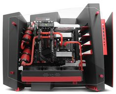 InWin S Frame par computer lounge Gaming Computer Setup, Gaming Pc Build, Computer Build, Gaming Pcs, Computer Internet, Computer Technology, Gaming Rooms, Pc Cases, Watercooling Pc