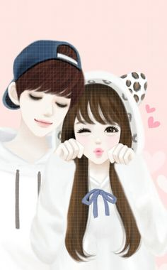 Image discovered by 𝐆𝐄𝐘𝐀 𝐒𝐇𝐕𝐄𝐂𝐎𝐕𝐀 👣. Find images and videos about girl, love and cute on We Heart It - the app to get lost in what you love. Love Cartoon Couple, Cute Cartoon Pictures, Cute Love Cartoons, Anime Love Couple, Cute Anime Couples, Girl Cartoon, Cute Couple Drawings, Cute Couple Art, Girly Drawings