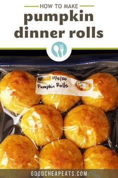 You'll love making our easy pumpkin rolls. You can even make them ahead and freeze before or after you bake them—we'll tell you how! How To Make Pumpkin, Best Pumpkin, Pumpkin Rolls, Holiday Bread, Dinner Rolls, Pumpkin Puree, Easter Recipes, Pumpkin Recipes, Cooking Time