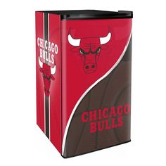 Chicago Bulls 3.2 Cubic Feet Mini-Fridge