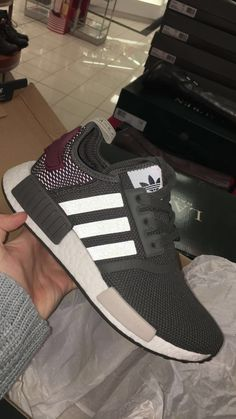 adidas nmd r1 olive green and maroon #adidas #nmd