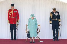 The Queen dances at low-key Trooping the Colour - video, best pictures - Photo 3 Queen Elizabeth Birthday, Queen Elizabeth Ii, Duke And Duchess, Duchess Of Cambridge, Queen's Official Birthday, Queen Husband, Bbc Presenters, Trooping Of The Colour, Autumn Phillips