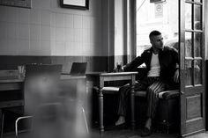Amir wears jacket by Andrea Pompilio. Vest & trousers by Ermengildo Zegna. Shoes by Ralph Lauren