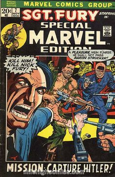 Special Marvel Edition # 7 by Dick Ayers