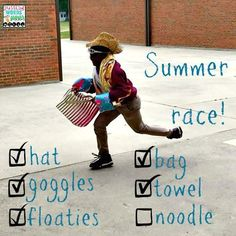 Fun stuff for summer therapy!