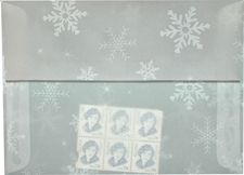 Translucent Snowflake envelopes