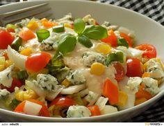 Vegetable Salad, Caprese Salad, Healthy Desserts, Potato Salad, Food And Drink, Low Carb, Treats, Chicken, Vegetables