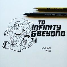 """""""Pelo infinito e mais além"""", Toy Story. Ian Simmons"""