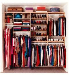 Built in wardrobe config.