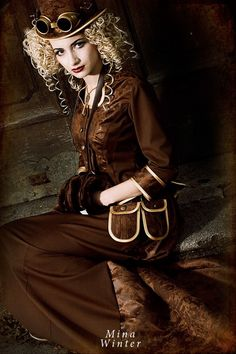 Steampunk Reenactors On Pinterest Steampunk Girl Steampunk And Steampunk Fashion