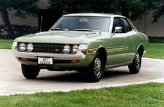 "The 1976 Celica becomes the first Toyota vehicle to win the ""Import Car of the Year"" Award."
