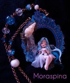 Guarda questo articolo nel mio negozio Etsy https://www.etsy.com/it/listing/519912524/fairy-unicorn-necklace-fantasy-polymer