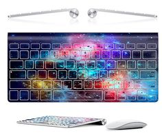 wireless macbook keboard decal - mac decal - mac pro keyboard cover - Laptop Decal keyboard stickers on Etsy, $14.99