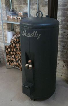 The rocket stove just finished