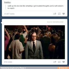 Poor geek Patrick. He's just too cute.