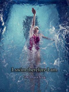 I swim. <3
