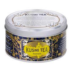 "Anastasia tea ""flavored with bergamot, lemon, and orange blossom."""
