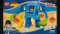 LEGO DUPLO 10825 Miles´ Exo-Flex Suit - instruction timelapse