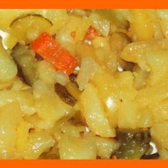 Zemiakový šalát BEZ MAJONÉZY - Sefkuchari.sk Ham, Macaroni And Cheese, Side Dishes, Food And Drink, Menu, Potatoes, Cooking Recipes, Vegan, Ethnic Recipes