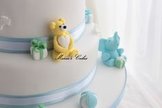 Sugar paste Baby elephant and teddy bear Sugar Paste, Fondant Cakes, Baby Elephant, Teddy Bear, News, Desserts, Tailgate Desserts, Elephant Baby, Deserts
