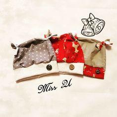 Süße Weihnachts-Babymützen Missing U, Miss You