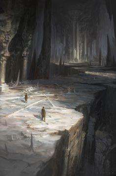 """""""A barlang hatalmas termei között voltak kisebbek és nagyobbak is, de mind közül mégis az volt a legnagyobb, ahonnan végül nem találtunk kiutat. A földön hatalmas területet fogadtak magukba a különböző színű porokkal rajzolt körök és csillagok, mintha csak jelentenének valamit."""""""